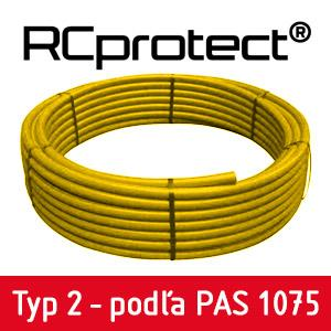HDPE rúra plyn  63x5,8 SDR11 (6 m) PIPELIFE RC SUPERPIPE - Plyn RC | Empiria